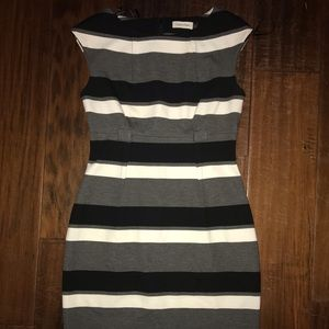 Calvin Klein Striped Dress